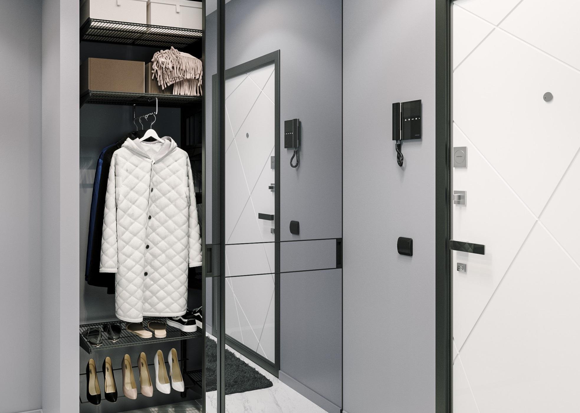 Модульная сетчатая гардеробная система «Аристо-2»
