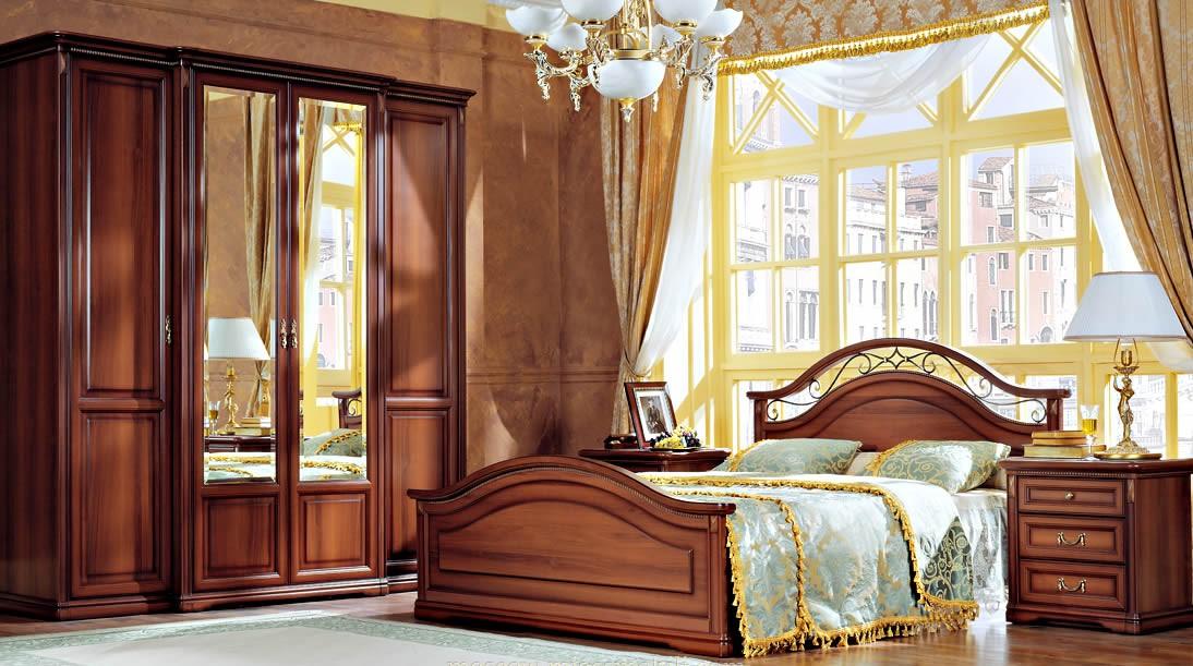 Спальня «Джоконда», цвет орех