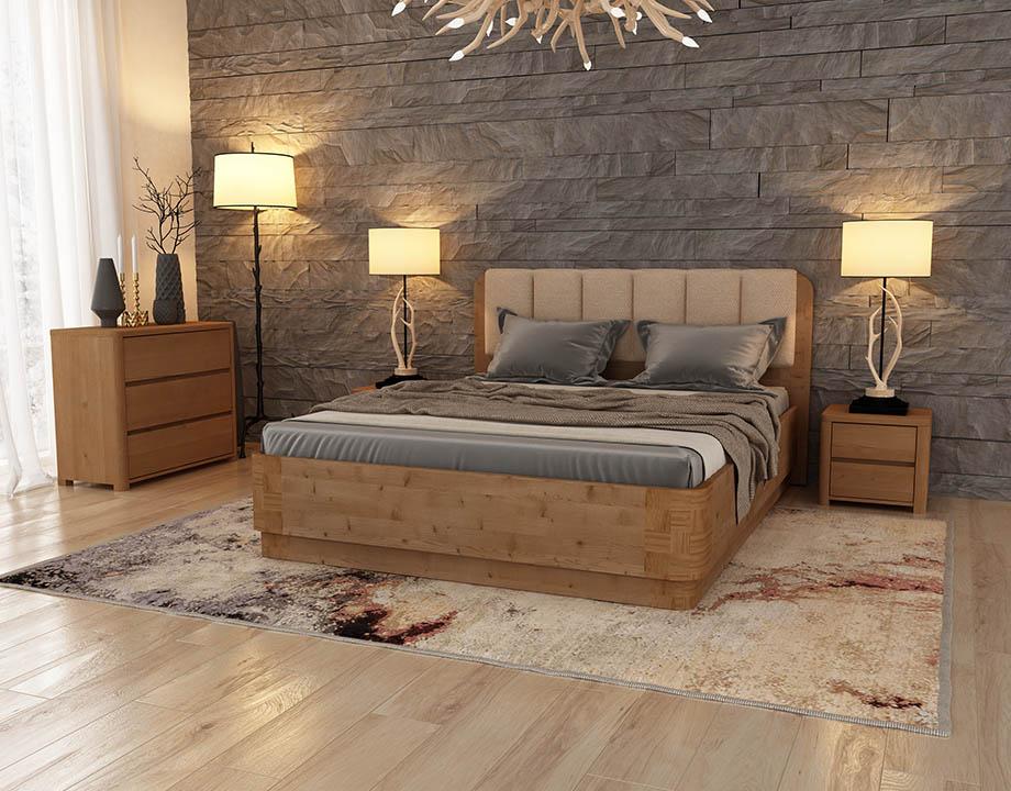 Кровать «Wood Home» 2 160-200 с подъемным механизмом