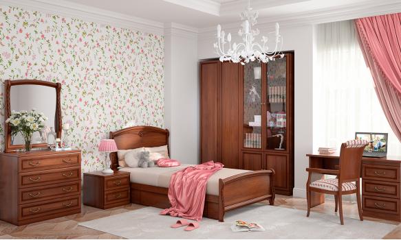 Мебельный гарнитур Камелия Орех для детской