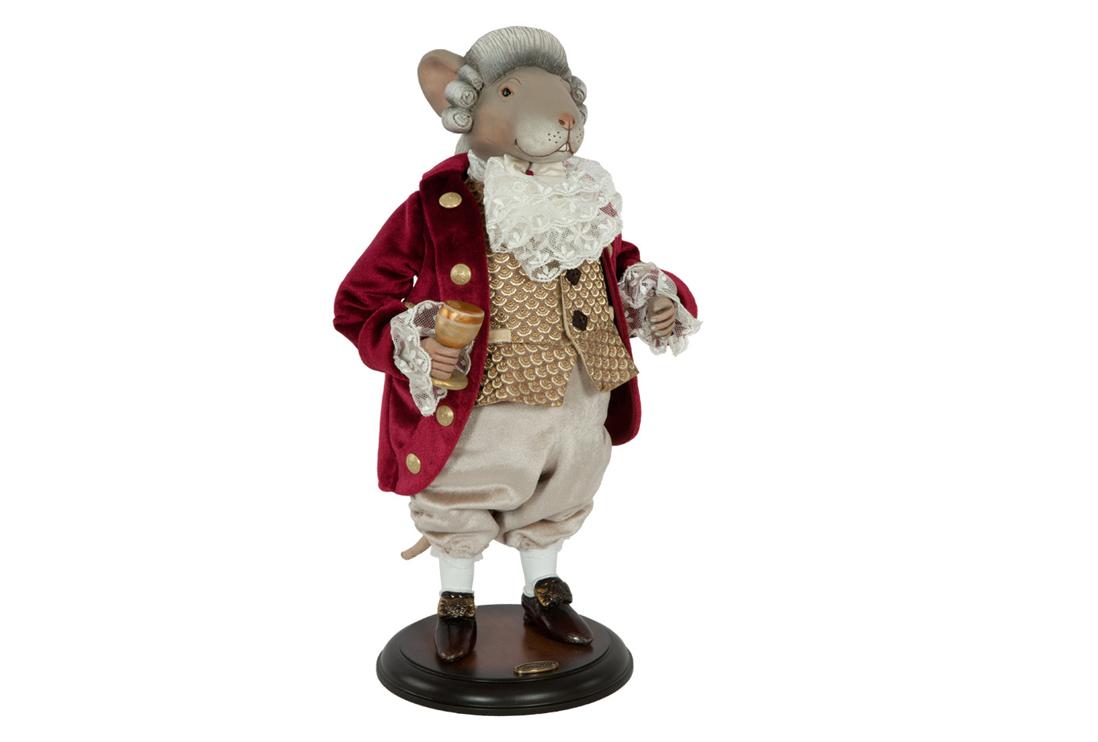 Коллекционная кукла «Мышонок»