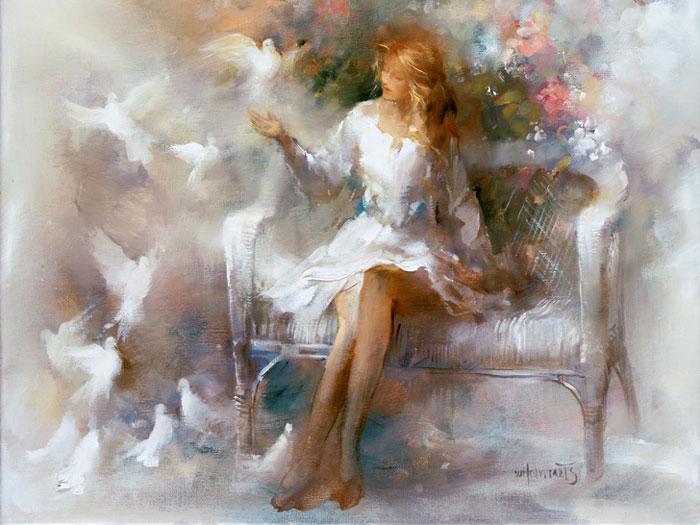 Картина «Белые сны»