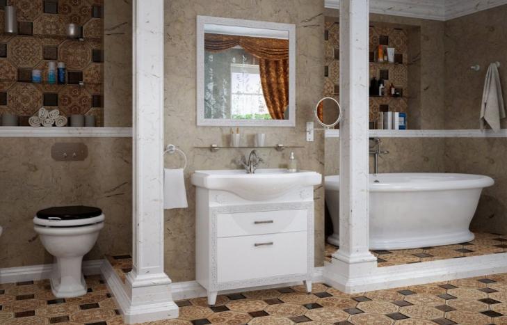 Мебель для ванной Классик 2