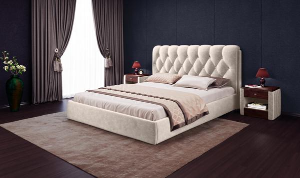Кровать «Империя Люкс» с подъемным механизмом